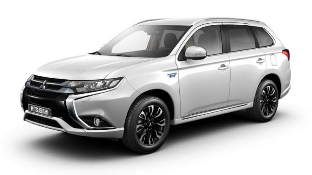 auto plug-in più venduta - Mitsubishi Outlander PHEV