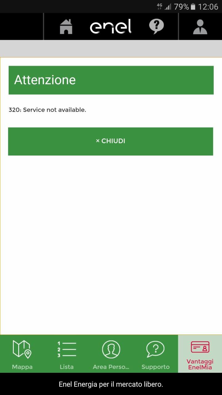 Tour dell'Abruzzo in auto elettrica - App e-Go Servizio non disponibile