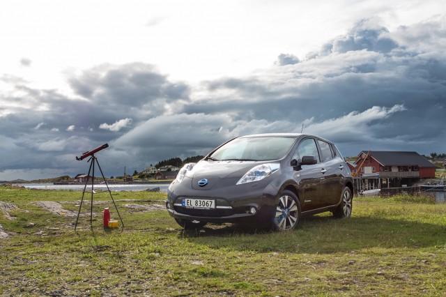 grand tour elettrico - Nissan LEAF