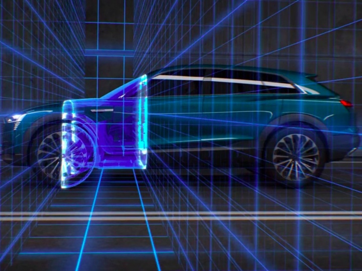 auto elettrica Audi - LTE Advanced