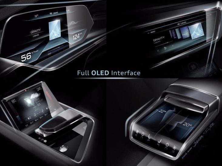 auto elettrica Audi - virtual cockpit