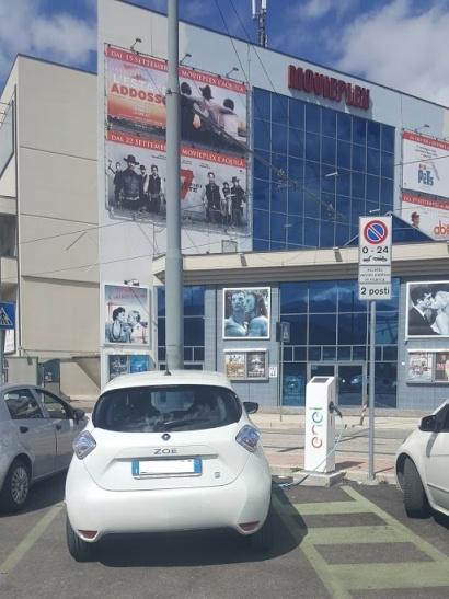 Tour dell'Abruzzo in auto elettrica - Via Leonardo Da Vinci L'Aquila