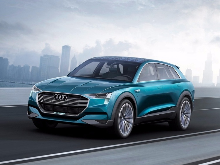 auto elettrica Audi - e-tron quattro concept
