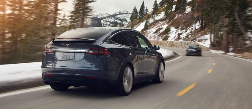 vendite di auto elettriche in Norvegia - Tesla Model X