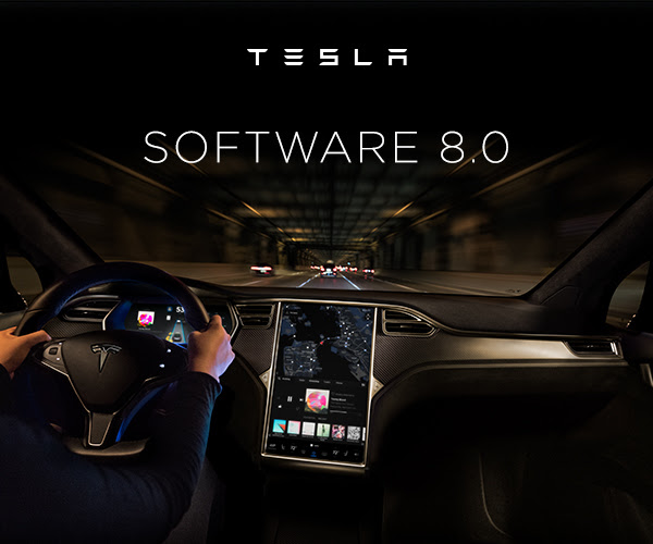 Tesla software 8.0