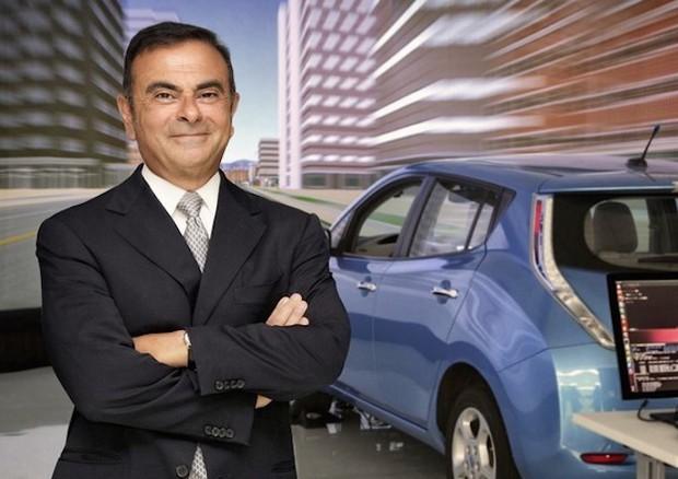 Nuova Nissan LEAF - Carlos Ghosn