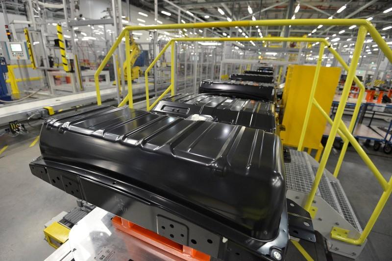 Nuova Nissan LEAF - batterie