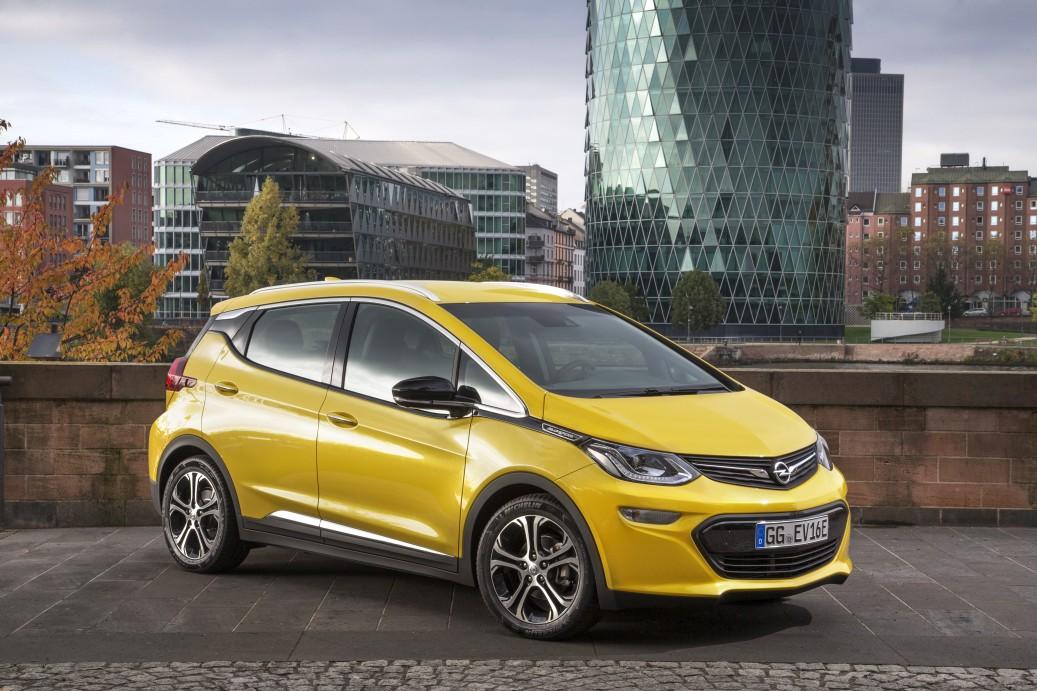 auto elettriche 2017, Opel Ampera-e