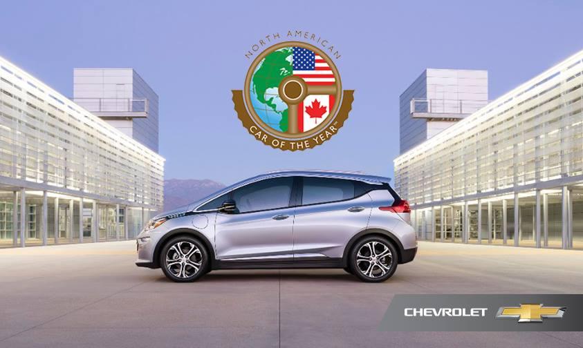 Auto dell'Anno 2017 - Chevrolet Bolt