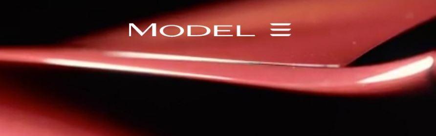 Logo Tesla Model 3, il vecchio