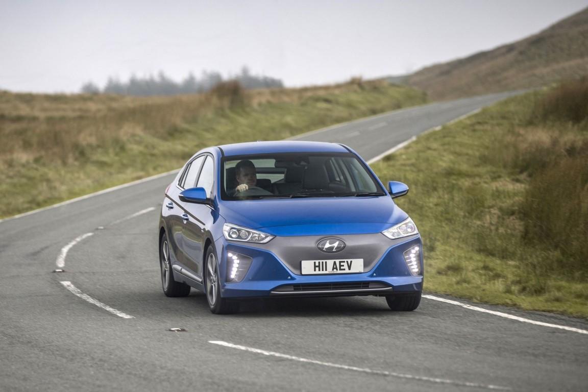 Kia Niro elettrica e Hyundai Ioniq elettrica