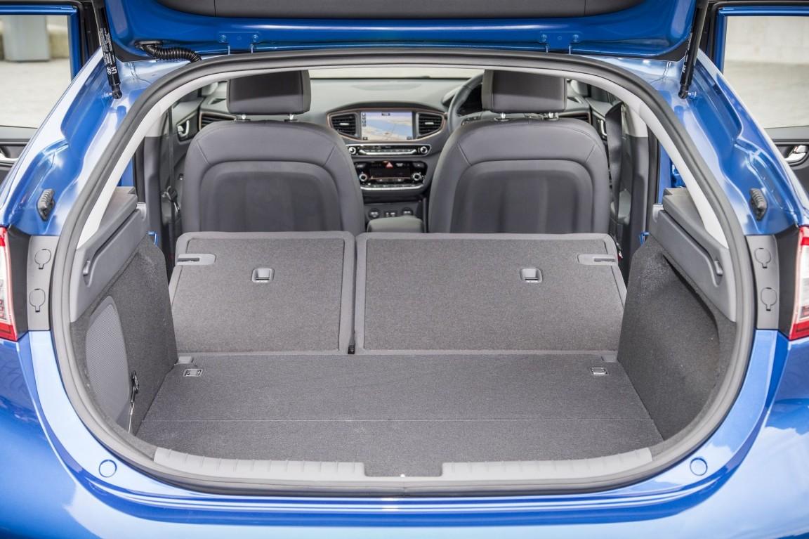 veicolo più green, Hyundai Ioniq bagagliaio