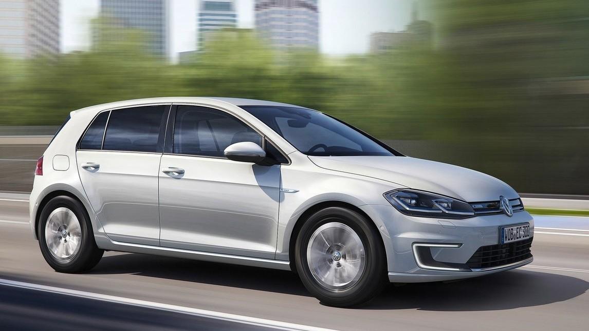 auto elettriche 2017, Volkswagen e-Golf