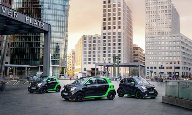auto elettriche 2017 - smart EV