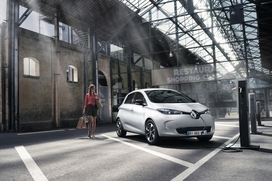 sistemi di ricarica auto elettriche - Renault ZOE