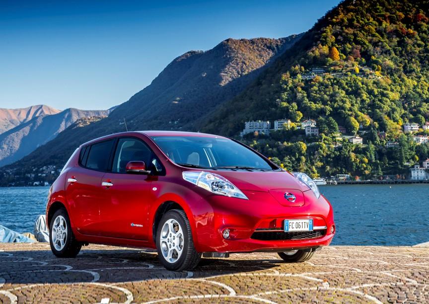 sistemi di ricarica auto elettriche - Nissan LEAF