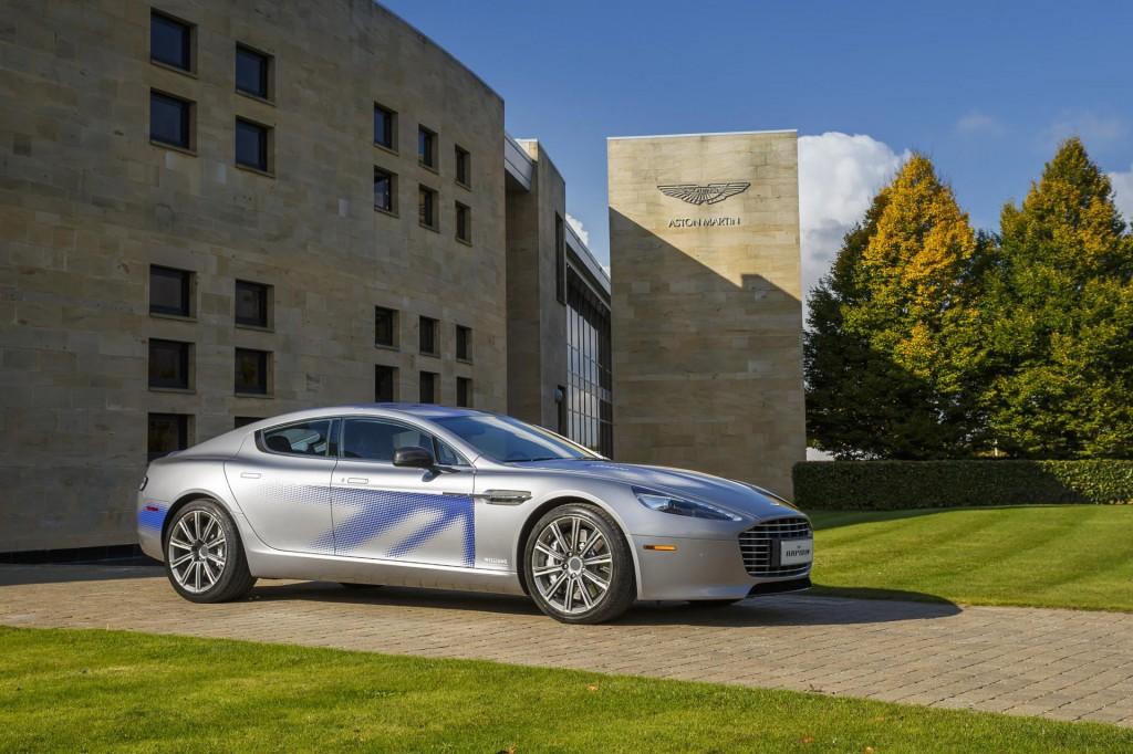 Concept di Aston Martin RapidE