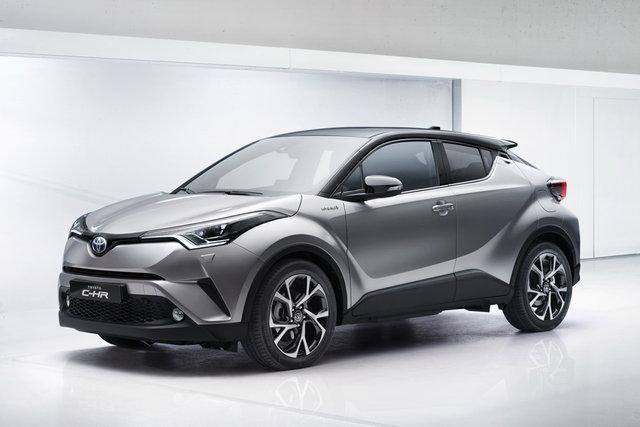immatricolazioni febbraio 2017 - Toyota C-HR