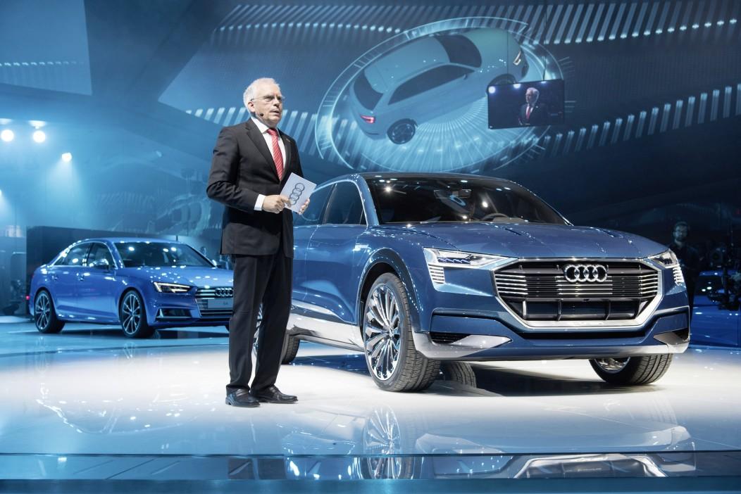 auto elettriche Audi: e-tron Quattro