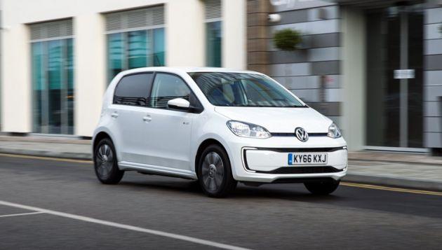sistemi di ricarica auto elettriche - Volkswagen e-up!
