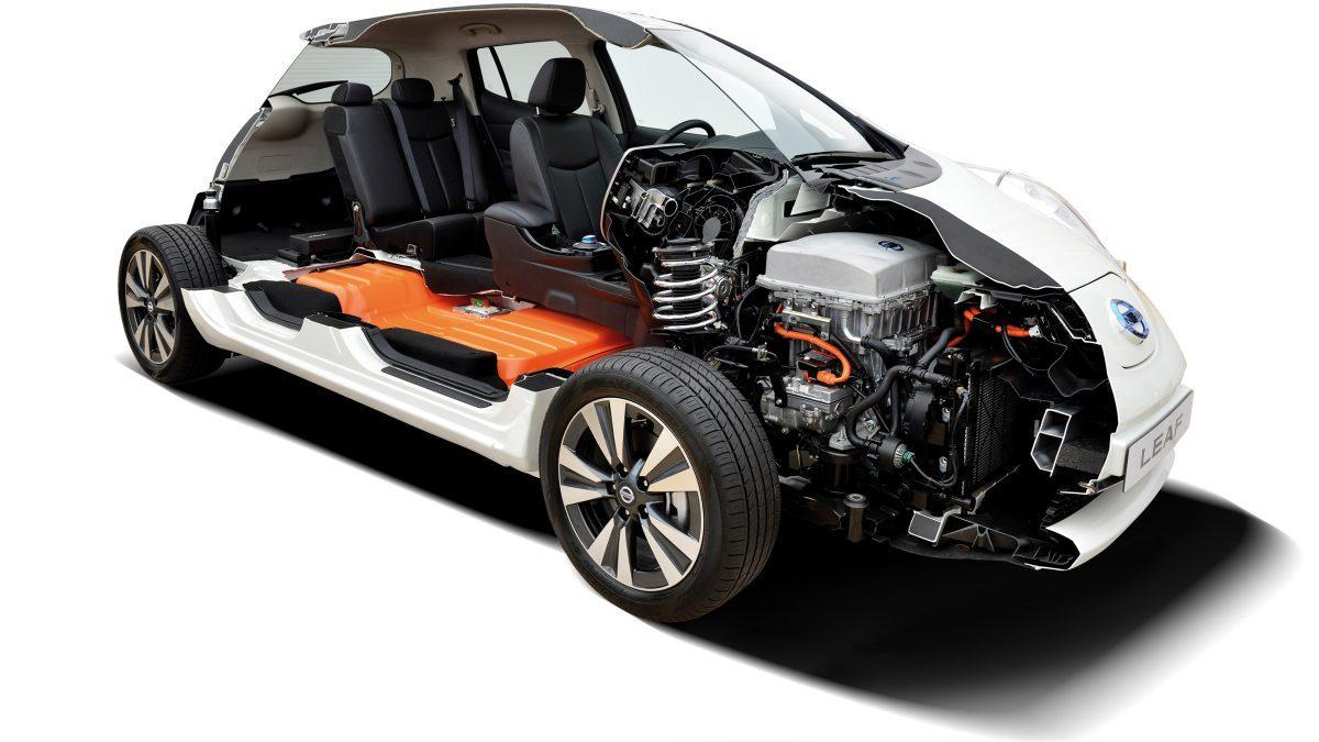 Batteria Tesla Model S - Nissan LEAF