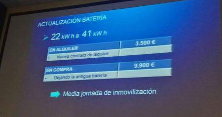 upgrade batteria zoe - prezzi