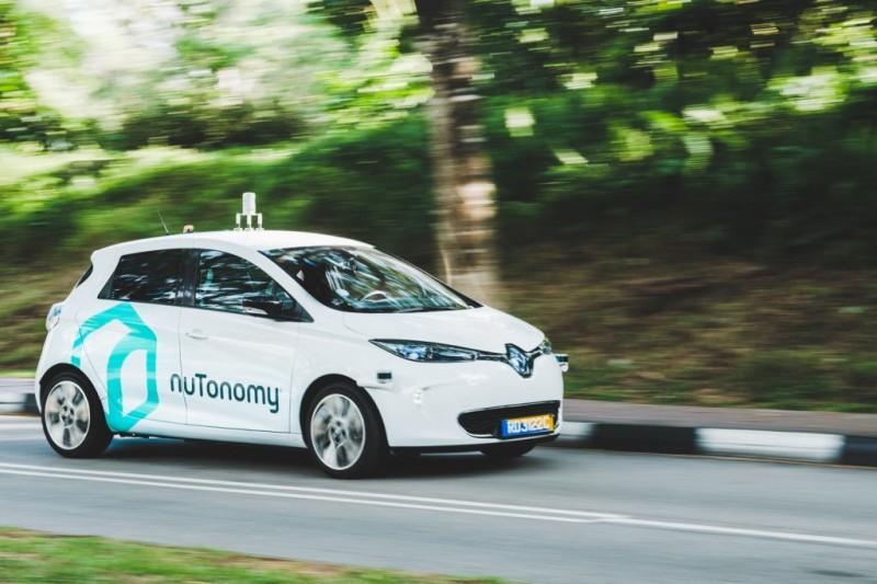 veicoli connessi - Zoe a guida autonoma