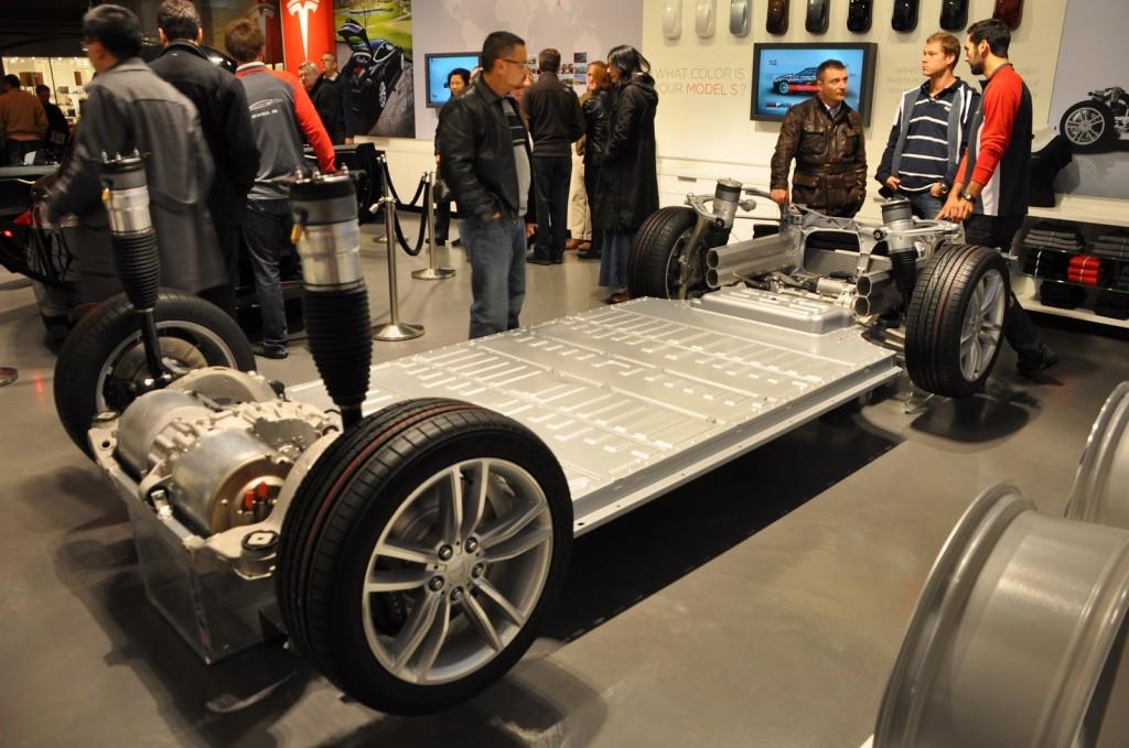 Batteria Tesla Model S - chassis
