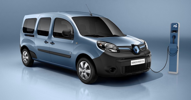 nuovo Renault Kangoo Z.E.
